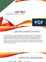 Garcia Velasquez Micrometro