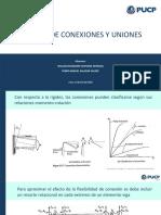 1. Análisis de conexiones y uniones