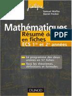 Mathématiques - Résumé du cours en fiches  ECS 1re et 2e années by Fredon, Daniel Maffre, Samuel (z-lib.org).pdf
