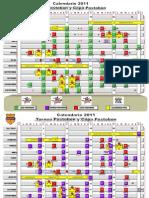 Calendario Dimayor 2011