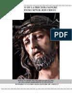 Rosario a La Preciosa Sangre de Cristo