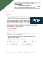 6° Guía de ecuaciones septimos 2020.