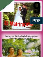 Principio Nº 09 - El matrimonio