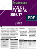 ORIENTACIÓN PLAN DE ESTUDIOS 8558