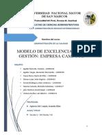CAMPO FE - Modelo de Gestión de Calidad