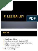 F. Lee Bailey