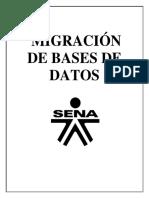 MIGRACION DE BASES DE DATOS