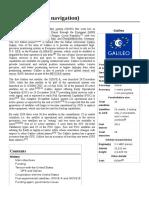 Galileo (Satellite Navigation)