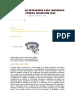 FORMACIÓN DE OPERADORES PARA COMUNIDAD TERAPEUTICA FUNDACIÓN FARO (Autoguardado).docx