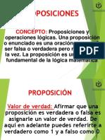 1.1  Proposiciones