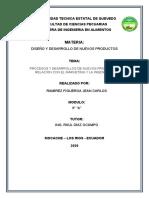 ENSAYO DE DISEÑO DE NUEVOS PRODUCTOS^