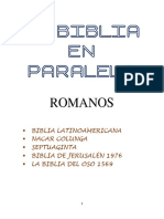 La Biblia en paralelo - ROMANOS