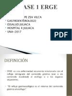 CLASE 1 DR ZEA