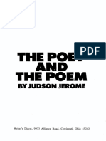 The Poet and the Poem by Jerome Judson