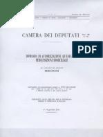 documenti parlamentari