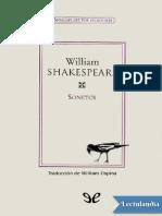 Sonetos de Shakespeare tr William Osina - William Shakespeare