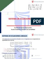 04. SISTEMA DE ECUACIONES 3X3