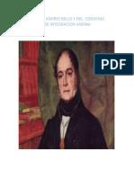 DIA DE ANDRES BELLO Y DEL  CONVENIO