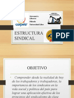 Estructura Sindical