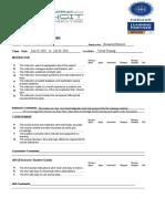 Nebosh Course Evaluation.V2 new.docx