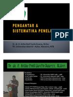 4. PENGANTAR & SISTEMATIKA PENELITIAN [Compatibility Mode]