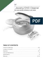 Ultasonic Jewelry and DVD Cleaner