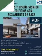 Curso Análisis y Diseño Sísmico de Edificios con Aislamiento de Base