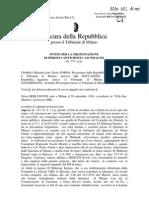 Berlusconi - Ruby, tutte le intercettazioni (Invito a comparire)