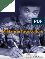 Déclarer la guerre contre la faim, militariser l'agriculture- La Tribune de Didier Mumengi