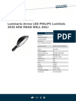 Lum Arrow LED Lumileds 3030 40W MEAN WELL DALI.pdf