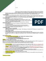 Constutional Law Summary