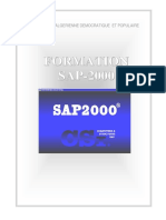 Formation Sap 2000