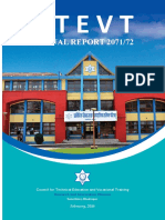 Annual Report CTEVT 2071-72