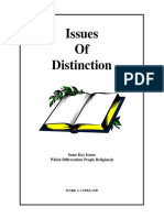 issues of distinction