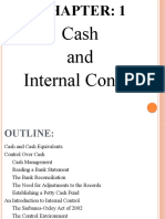 Chapter 1 Cash and Internal Control (1)