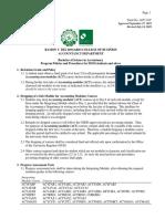 BSA Policies and Procedures