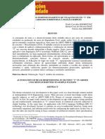"""AUTOMATIZAÇÃO DO DIMENSIONAMENTO DE VIGAS EM SEÇÃO """"T"""" EM  CONCRETO ARMADO SUBMETIDAS À FLEXÃO SIMPLES"""