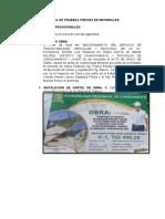 CONTROL DE PRUEBAS PREVIAS DE MATERIALES
