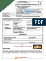 LENGUA CASTELLANA 8° 01 -02-03-04-05