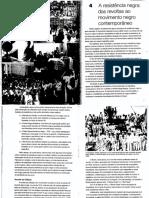 O-negro-no-Brasil-de-hoje - A resistência negra - das revoltas ao movimento negro contemporâneo