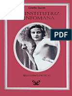 La Institutriz Ninfomana