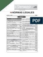 norma peruana guia de requisitos microbiologicos en superficies
