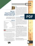 Self-fulfilling Prophecy - DD3 11th