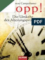 Stopp! · Die Umkehr des Alterungsprozesses