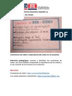 Actividad 20, Lengua Española