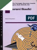 Dal Pra Et Al. - Panorami Filosofici. Itinerari Del Pensiero [1991]
