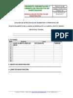 ANALISIS DE ESTRATEGIAS DE MARKETING Y PROPUESTA DE POSICIONAMIENTO DE LA MARCAS PROPIAS EN LA CADENA JUSTO Y BUENO .doc