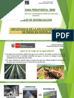 5 IMPORTANCIA TECNICAS RIEGO PARCELA-DGIAR