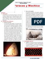 Cultura Paracas y Mochica - ficha guía