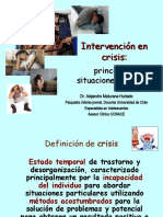 Intervencion en Crisis. Noviembre 2010